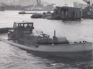 Wasserboot V Trinkwasser Lieferung