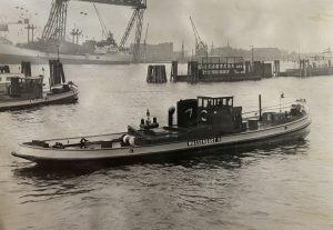 Trinkwasser Lieferung Wasserboot II