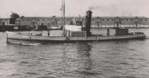 Wasserlieferung Wasserboot